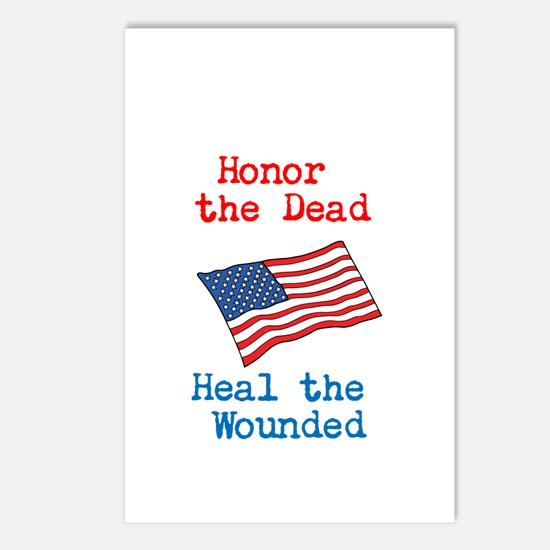 Honor the dead Postcards (Package of 8)