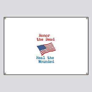 Honor the dead Banner