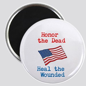 Honor the dead Magnet