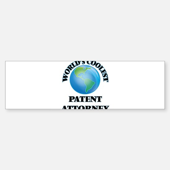 Patent Attorney Bumper Bumper Bumper Sticker