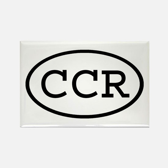 CCR Oval Rectangle Magnet