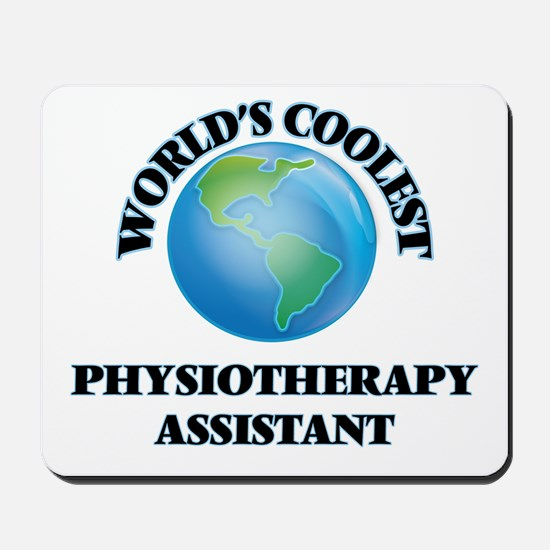 Physiotherapy Assistant Mousepad