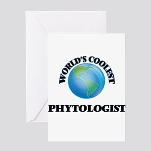 Phytologist Greeting Cards