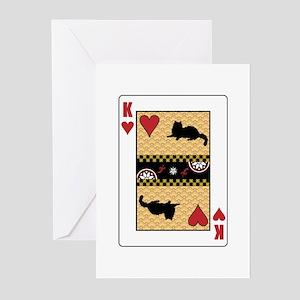 King Ragdoll Greeting Cards (Pk of 10)