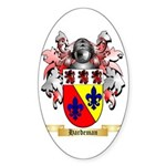 Hardeman Sticker (Oval 10 pk)