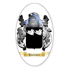 Hardaker Sticker (Oval 10 pk)