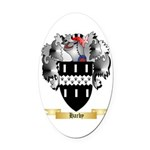 Harby Oval Car Magnet