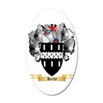 Harby 20x12 Oval Wall Decal