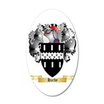 Harby 35x21 Oval Wall Decal