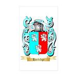 Harbidge Sticker (Rectangle 50 pk)