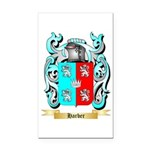 Harber Rectangle Car Magnet