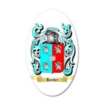 Harber 20x12 Oval Wall Decal