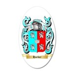 Harber 35x21 Oval Wall Decal