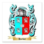 Harbar Square Car Magnet 3