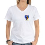 Har Paz Women's V-Neck T-Shirt