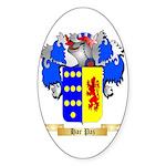 Har Paz Sticker (Oval 10 pk)