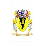 Hanzel Sticker (Rectangle 50 pk)
