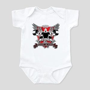 SQUAT IS KING Infant Bodysuit