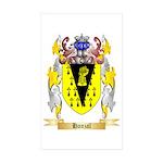 Hanzal Sticker (Rectangle 10 pk)