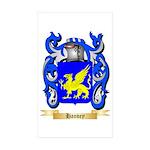 Hanvey Sticker (Rectangle 50 pk)