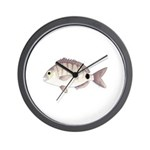 Spottail Bream Pinfish Wall Clock