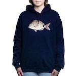 Spottail Bream Pinfish Women's Hooded Sweatshirt