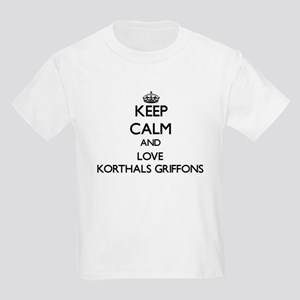 Keep calm and love Korthals Griffons T-Shirt