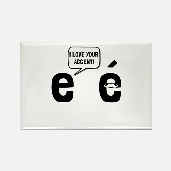 Cute French teacher Rectangle Magnet