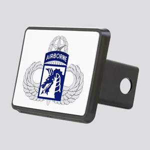 18th Airborne Master Rectangular Hitch Cover