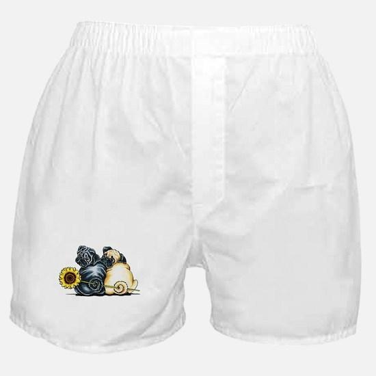 Sunny Pugs Boxer Shorts