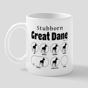 Stubborn Dane v2 Mug