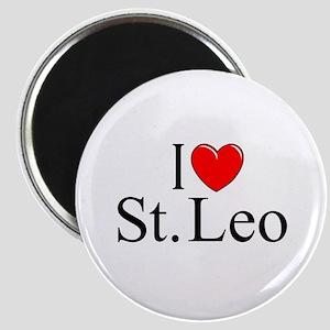 """""""I Love St. Leo"""" Magnet"""