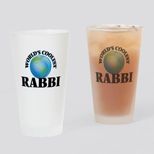 Rabbi Drinking Glass