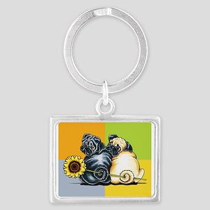 Sunny Pugs Keychains