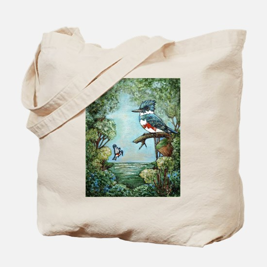"""KINGFISHER'S GROVE"" Tote Bag"