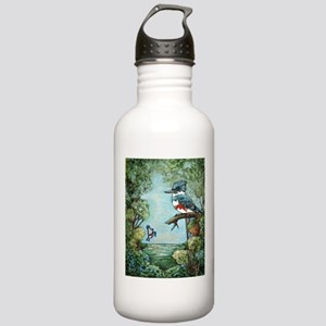 """KINGFISHER'S GROVE"" Water Bottle"