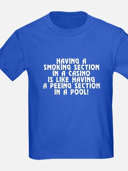 Smoking section...casino - T