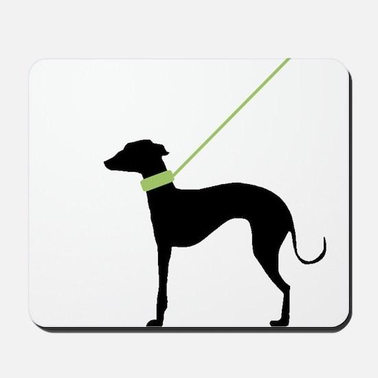 Black Dog Mousepad