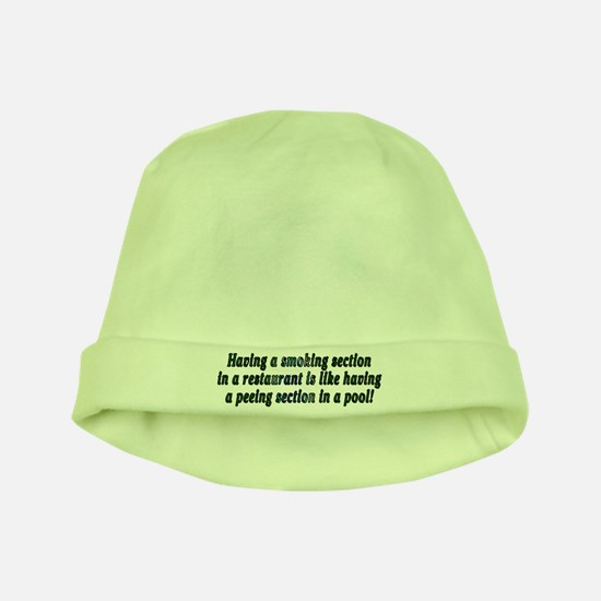 Smoking...restaurant - baby hat