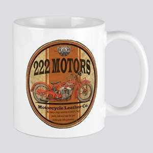 222 motors indian Mugs