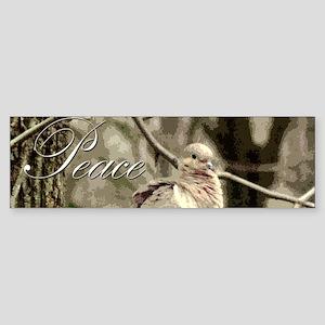 Peace Dove Bumper Sticker