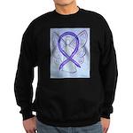 Violet Ribbon Angel Sweatshirt