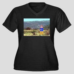 El Camino de Santiago de Compost Plus Size T-Shirt