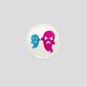 Two Ghosts Mini Button