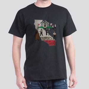 Colonized-for-ya Republic Dark T-Shirt