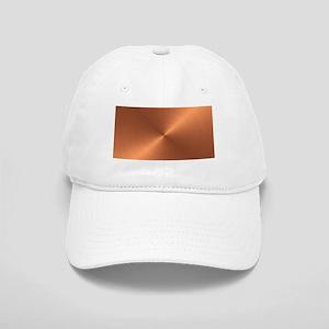 License-Plate-Copper Baseball Cap