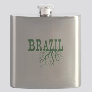 Brazil Roots Flask