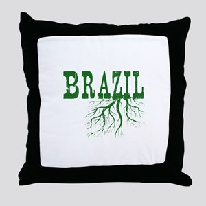 Brazil Roots Throw Pillow