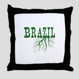 Brazil Roots Throw Pillow