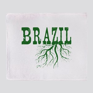 Brazil Roots Throw Blanket